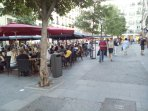 plaza de Chueca, a 20 metros del piso.