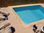MARGIA holiday house swimming pool measuring 7 meters by 3 meters
