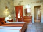 MARGIA holiday house double bedroom with en suite bathroom