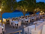 price correct cafe restaurant the 2nd  bay   with pebble beach 400 meters from the villa