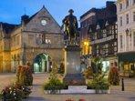 Beautiful town of Shrewsbury just 7 miles away.