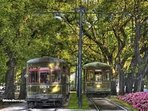 Walk to tons of restaurants, bars, specialty stores.  If too far to walk, grab a street car.
