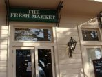Walk to Fresh Market two blocks away for your groceries.