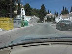 5) And the entance to Campo Mijas with El Albanil first turning left.
