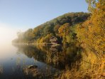 The boat house at Ullswater shores near Pooley Bridge, Penrith is a must to see