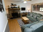 Living Room with sleeper sofa Smart TV with DirecTV. WiFi access with 50+ MB/s