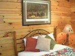 Guest bedroom #3 with queen bed.