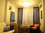 soggiorno con balcone