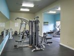 The community also boasts a well-equipped fitness center.