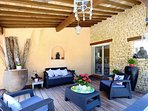 Villa Cicada - The Terrasse of the Gourmet Kitchen