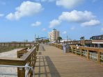 The new Carolina Beach Boardwalk