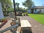 The Lindens Croyde Holiday Cottages Terrace And Board Storage