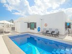 Luxury child friendly villa in Costa Teguise-