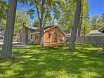 An unforgettable getaway awaits you at this rustic log cabin!