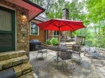 A rejuvenating woodland getaway awaits you at this vacation rental house in Banner Elk!