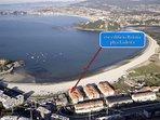 Increíble ubicación primera línea playa Ladeira