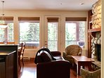 Lots of Windows in this Lovely Suite Living Room