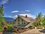 The 1,855-square-foot home has 2 bedrooms & 1.5 bathrooms on 1.26 scenic acres.