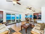 Great open floor plan enjoy ocean views while you take a relaxing afternoon nap