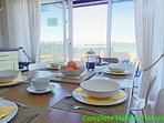 Comfortable dining for up to 6
