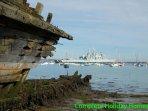 Interesting walks along the harbour foreshore