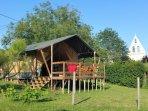 L'ecolodge du ruisseau : une parenthese de charme dans l'arriere pays bordelais