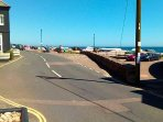 Budleigh Salterton Fore Street to the beach.