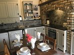 Cook up a stir in our fully equipped period kitchen/dining room