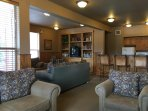 Common Area - Family Room Located at Shooting Star for Winter Green Guests