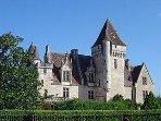 Le château des Millandes chère à Joséphine BAKER