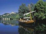 Une balade en Gabare sur la Dordogne