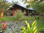 Marina Resort Waterland offers seven spacious and comfortable houses at the Suriname river.