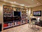 Conservatory-TV room-Study