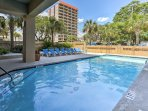 Look forward to many perfect pool days at this fantastic condo!