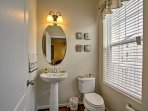 The townhome offers 3.5 bathrooms.