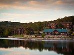 Building,Cottage,Hotel,Resort,Dock