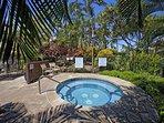 Kamaole Sands hot tub