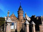 Luxury Lodge House in the Heart of Broughty Ferry with Garden & Barbeque
