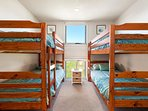 Double bunk bedroom