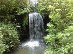 Bishops Court Glen waterfall