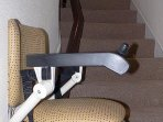 A stair lift is available for elderly or disabled residents.