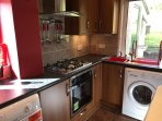 Fully fitted,modern kitchen - brand new appliances. Loads of cupboard space and a walk in pantry.