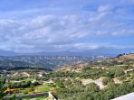 View from the Villa of Youktas mountain