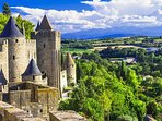 The World Heritage site, the Cite de Carcassonne is just 35 minutes by car.  An amazing ancient city
