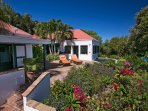 Coral Bay, St. John VI - Magical Villa for Couples or Small Families: Garden view - Astral Ridge