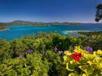 Coral Bay, St. John VI Rental Villa for Couples or Small Families: National Park view - Astral Ridge