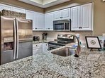 Majestic Sun 1008B - Kitchen with Stainless Steel Appliances