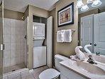 Majestic Sun 1008B - Guest Bathroom with Laundry Closet