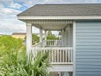 Enjoy the breeze from the ocean from your private patio.
