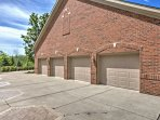 The is ample off-street parking, including 2 garage spaces.